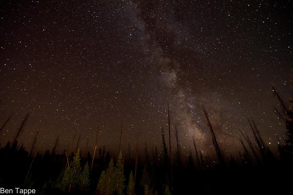 Milky way Yellowstone-XL